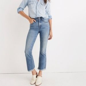 Madewell Cali Demi Boot Comfort Stretch Jeans